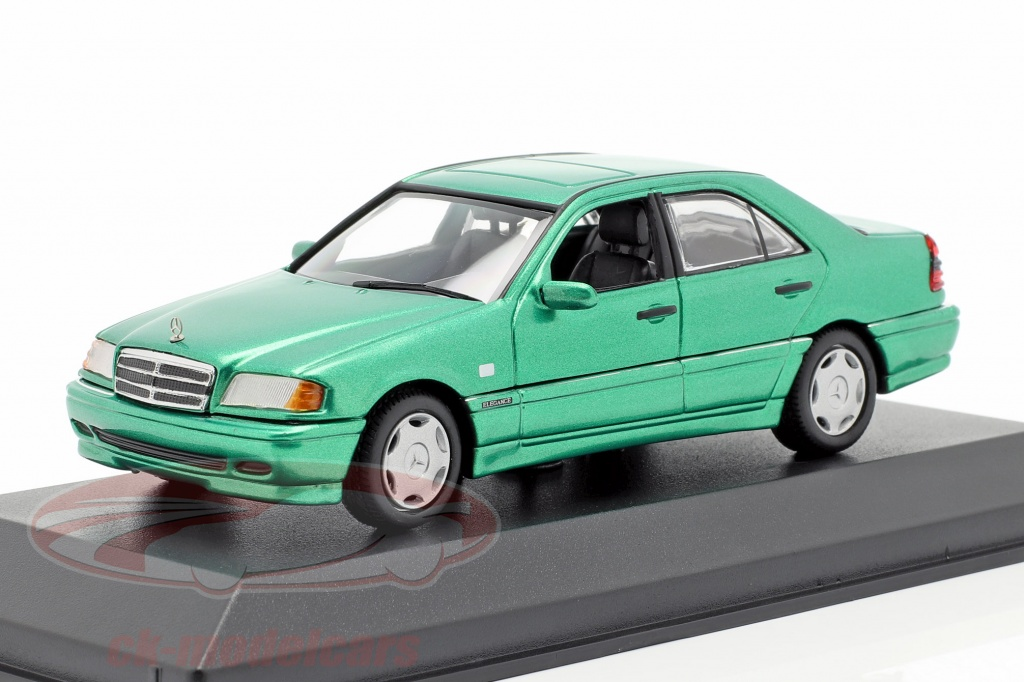 minichamps-1-43-mercedes-benz-c-class-w202-annee-de-construction-1997-vert-metallique-940037061/