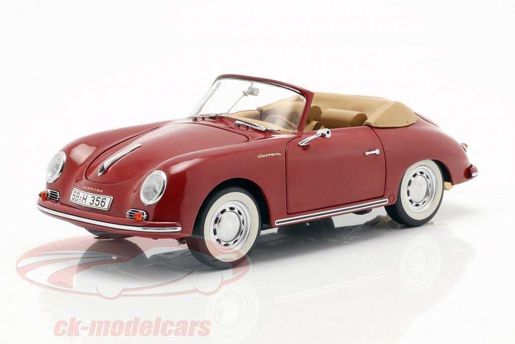 schuco-1-18-porsche-356a-carrera-cabriolet-rubino-rosso-450031600/