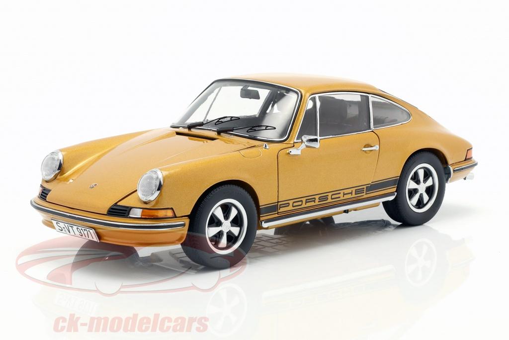 schuco-1-18-porsche-911-s-coupe-opfrselsr-1973-guld-metallisk-450036100/