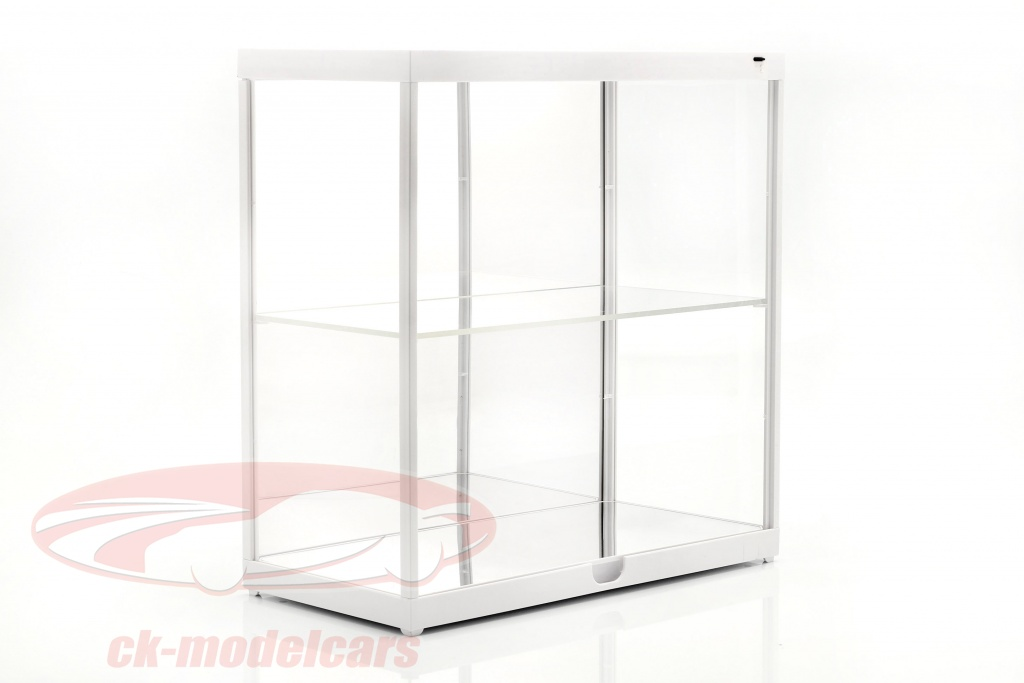 double-showcase-with-led-lighting-for-model-cars-in-scale-1-18-white-triple9-t9-187820mw/