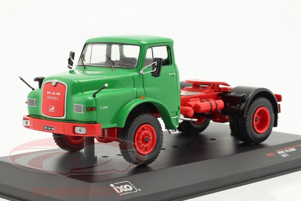 ixo-1-43-man-19280h-sattelzugmaschine-baujahr-1971-gruen-tr037/