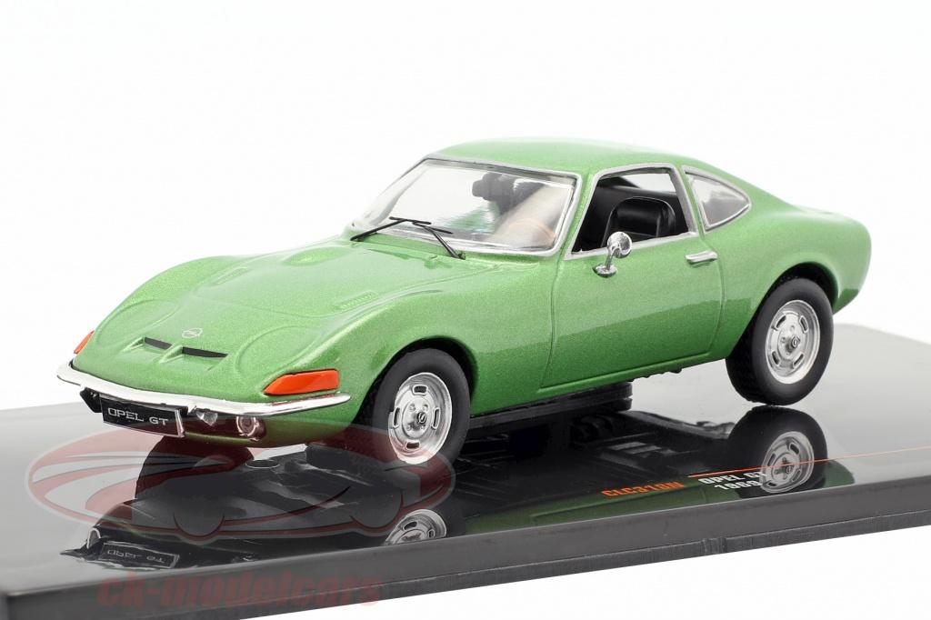 ixo-1-43-opel-gt-annee-de-construction-1969-vert-metallique-clc318n/