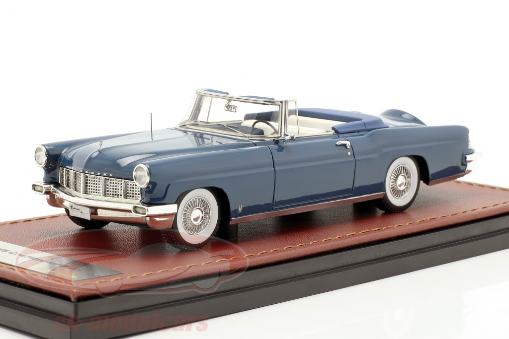 great-lighting-models-1-43-lincoln-continental-mk-ii-open-top-year-1956-blue-glm102701/