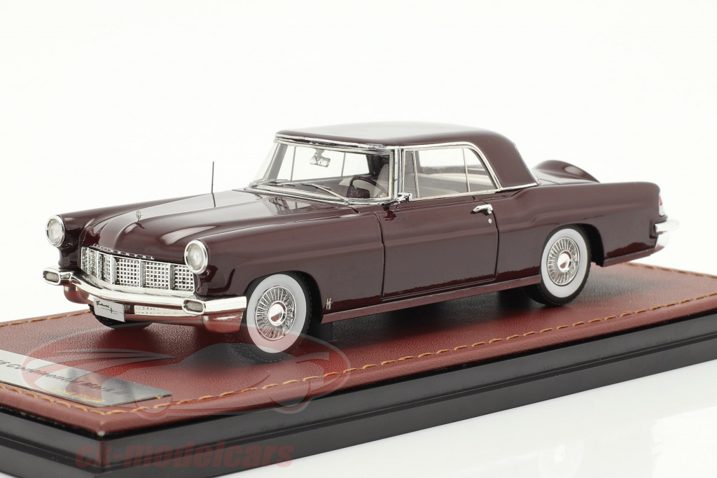 great-lighting-models-1-43-lincoln-continental-mk-ii-year-1956-maroon-glm102703/