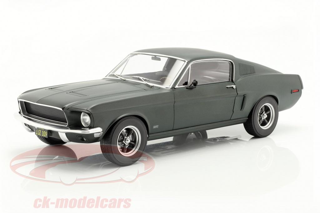 norev-1-12-ford-mustang-fastback-coupe-baujahr-1968-satin-gruen-metallic-122702/