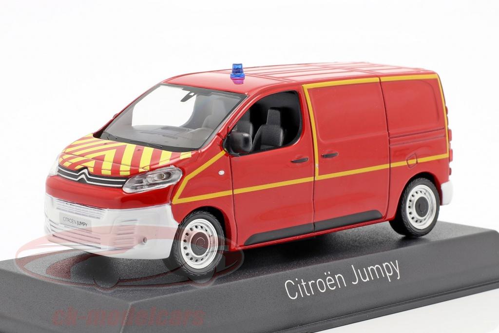 norev-1-43-citroen-jumpy-furgoneta-departamento-de-bomberos-ano-de-construccion-2016-rojo-amarillo-155822/