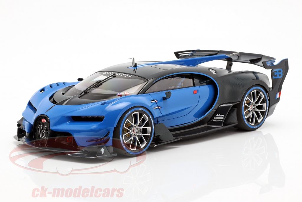 autoart-1-18-bugatti-vision-gt-ano-de-construccion-2015-bugatti-racing-azul-carbon-azul-70986/