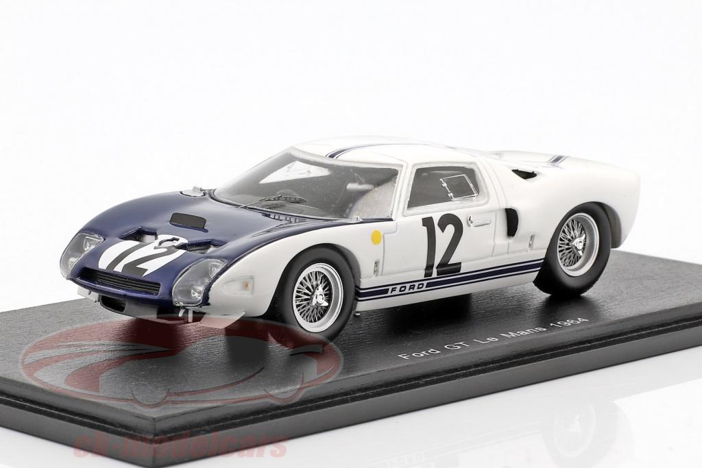 spark-1-43-ford-gt40-no12-24h-lemans-1964-schlesser-attwood-s5189/