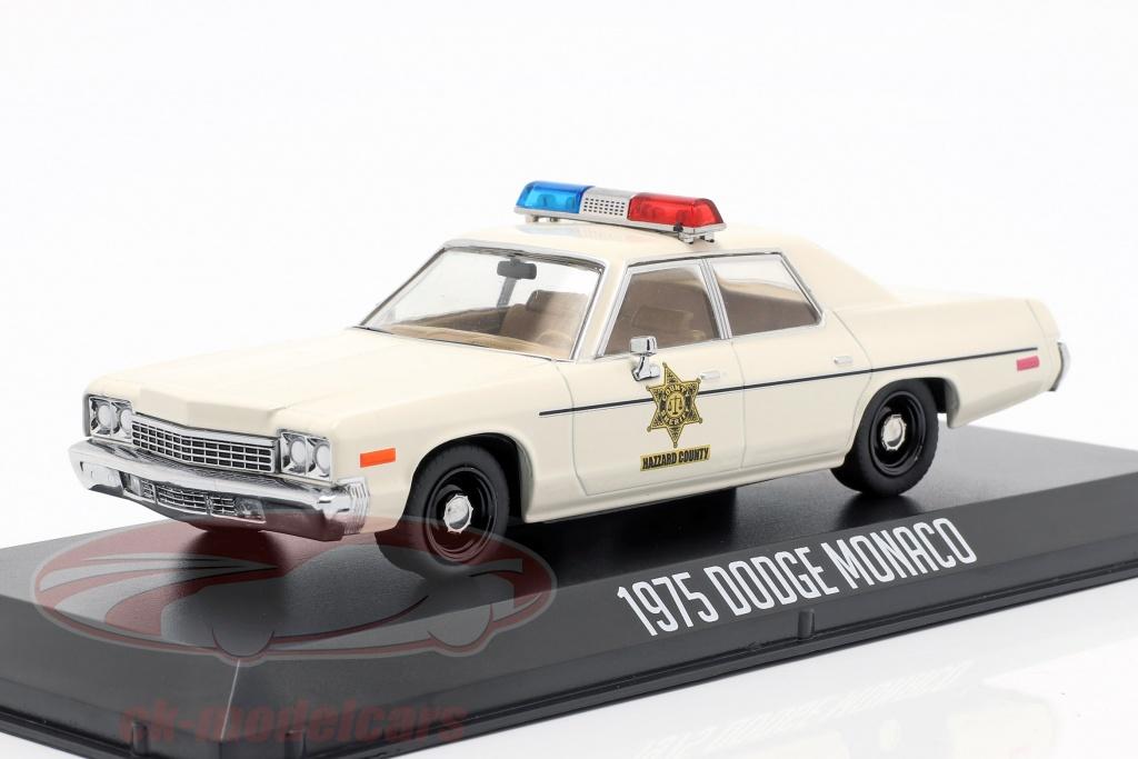 greenlight-1-43-dodge-monaco-hazzard-county-sheriff-year-1975-white-86567/
