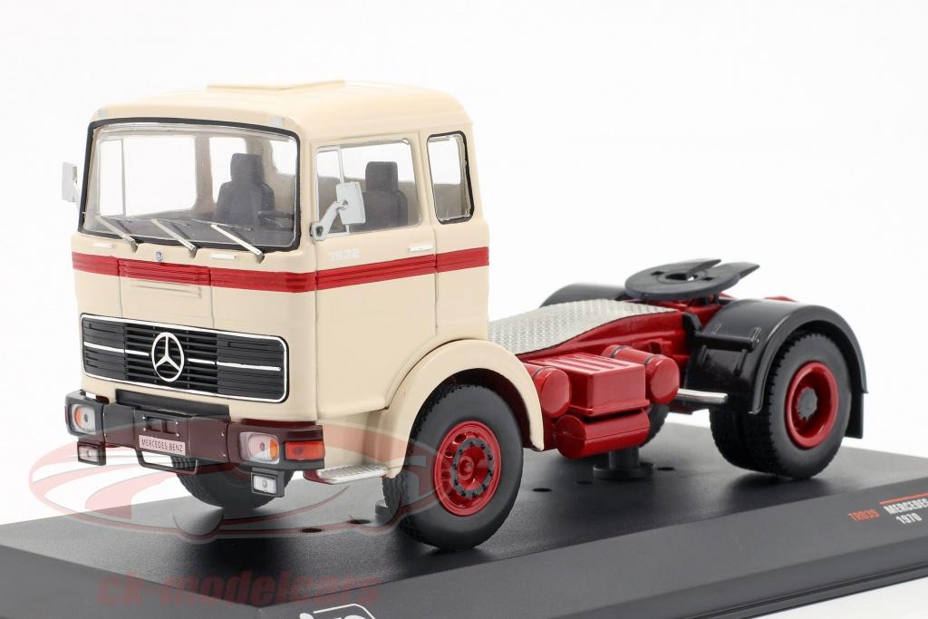 ixo-1-43-mercedes-benz-lps-1632-caminhao-ano-de-construcao-1970-bege-vermelho-tr039/