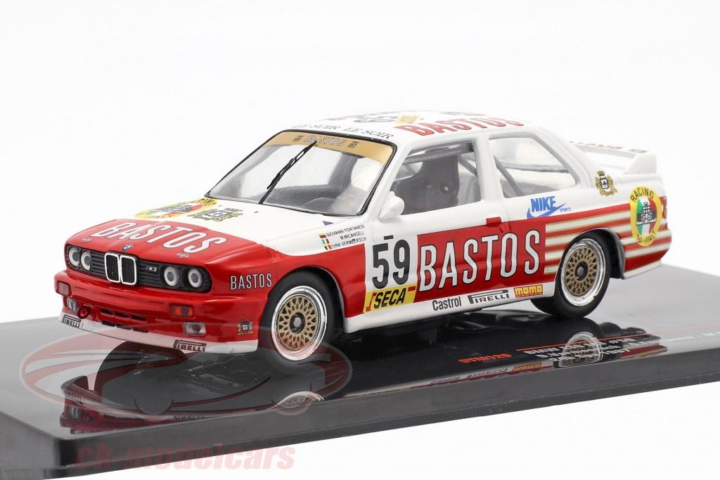 ixo-1-43-bmw-m3-e30-no59-24h-spa-1987-bastos-racing-team-gtm129/