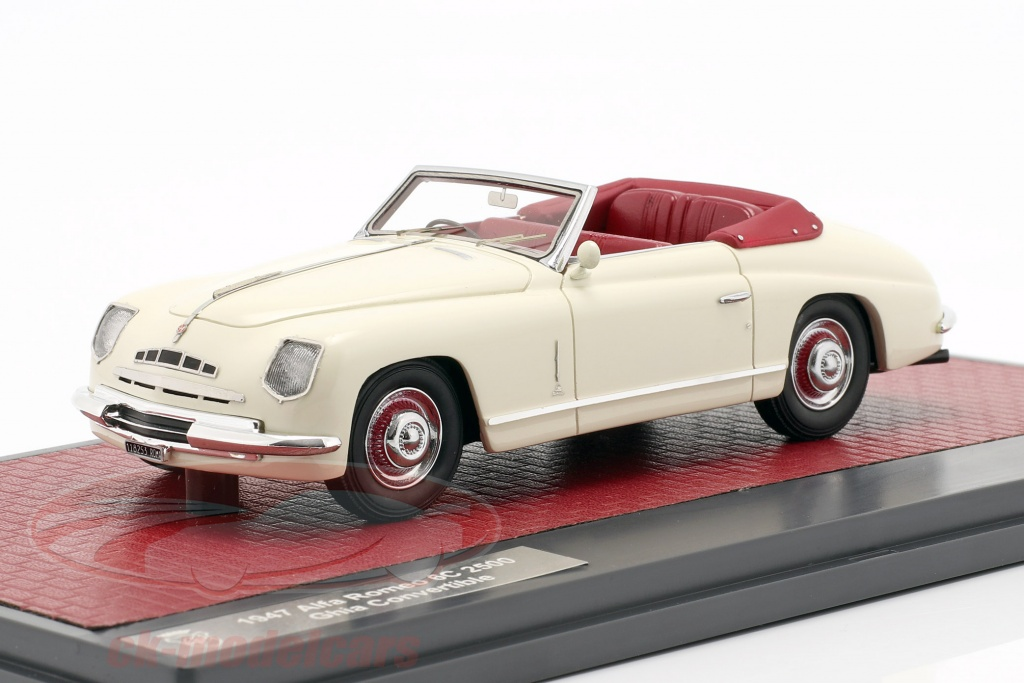 matrix-1-43-alfa-romeo-6c-2500-ghia-convertible-open-top-1947-cream-white-mx50102-111/