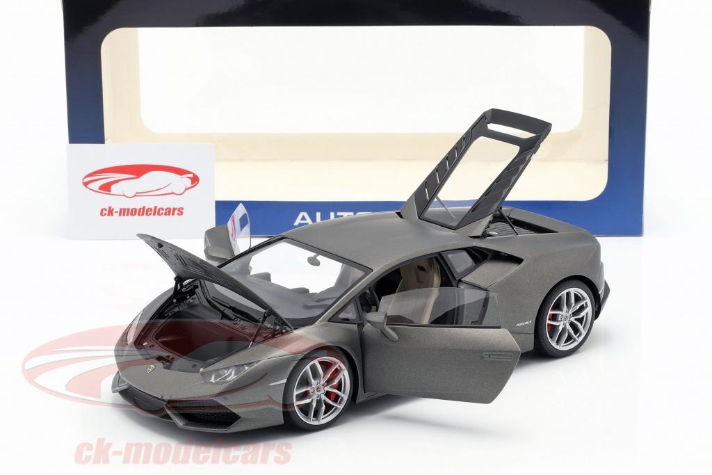 Lamborghini brochure lp610-4 año de fabricación 2014 Titan Matt gris 1:18 Autoart