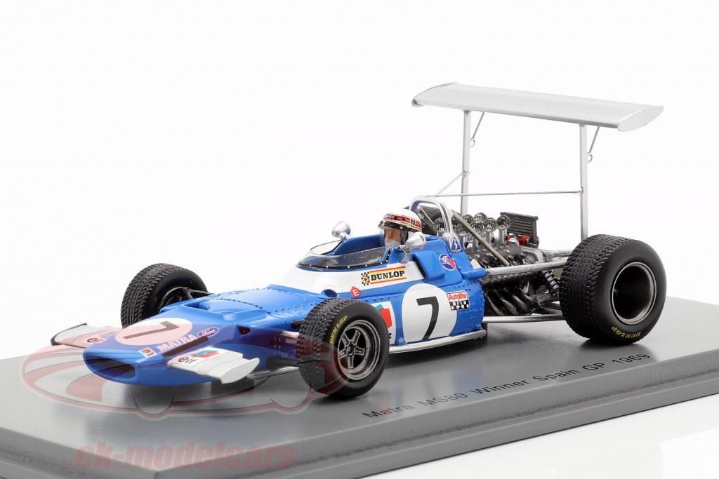 spark-1-43-jackie-stewart-matra-ms80-no7-vinder-spansk-gp-verdensmester-f1-1969-s7190/
