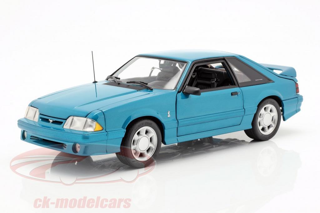 gmp-1-18-ford-mustang-cobra-ano-de-construcao-1993-verde-azul-18923/