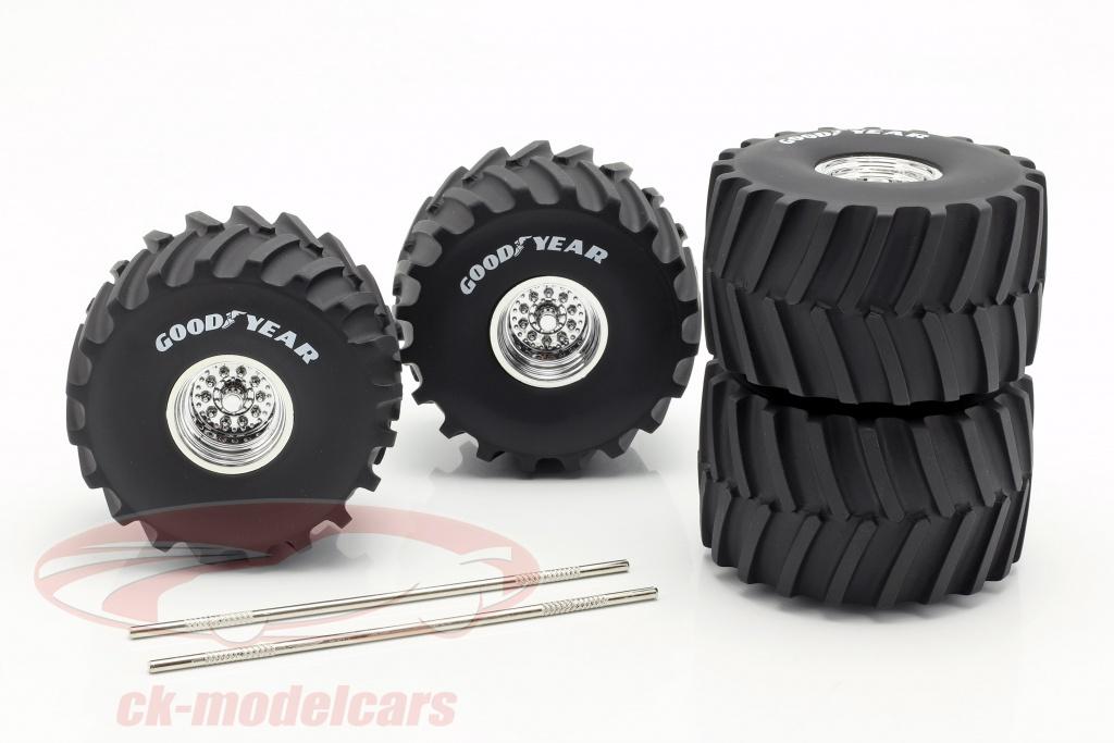 greenlight-1-18-monster-truck-66-inch-rueda-neumatico-set-goodyear-13547/