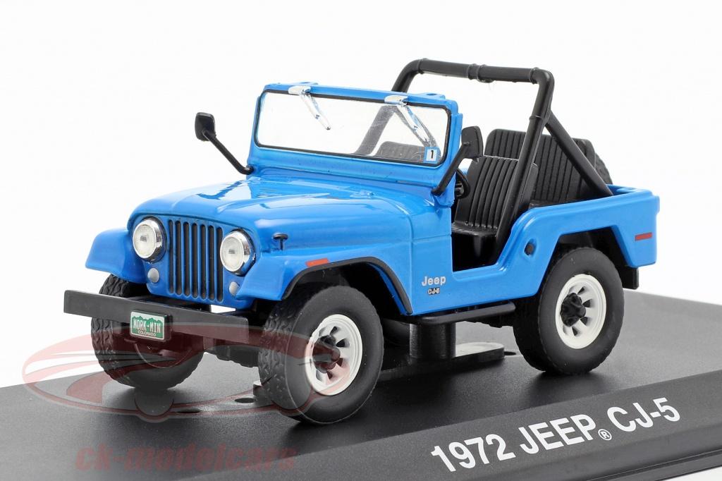 greenlight-1-43-jeep-cj-5-1972-series-de-television-mork-mindy-1978-82-azul-86570/