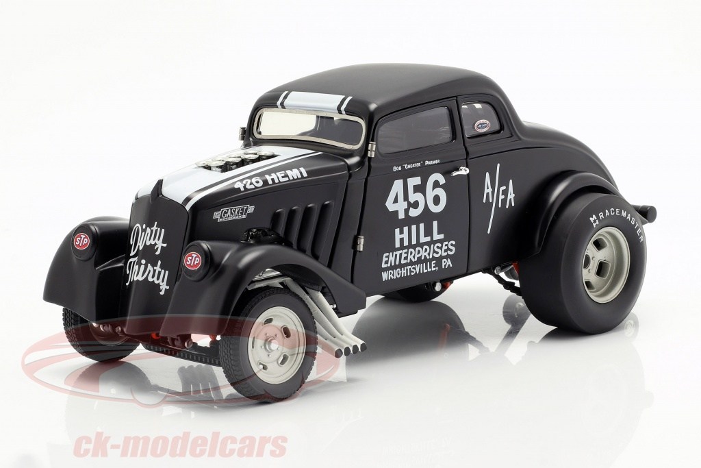 gmp-1-18-willys-gasser-dirty-thirty-ano-de-construccion-1933-saten-negro-blanco-1800913/