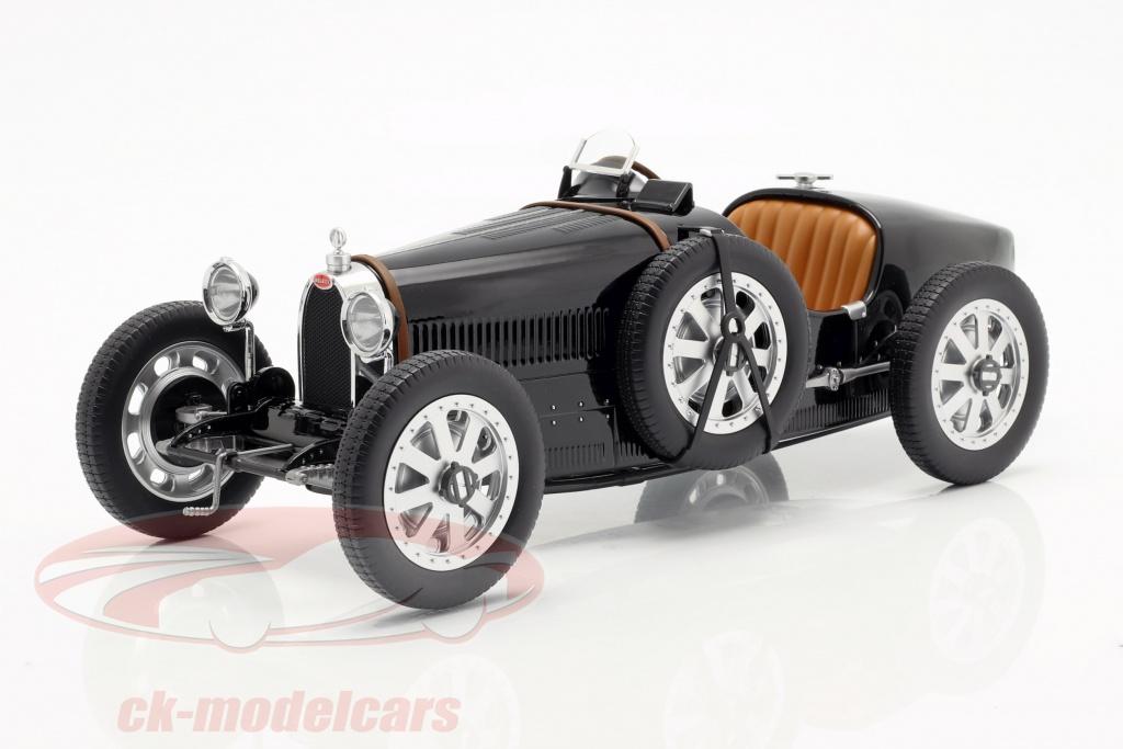 norev-1-12-bugatti-t35-bouwjaar-1925-zwart-125701/