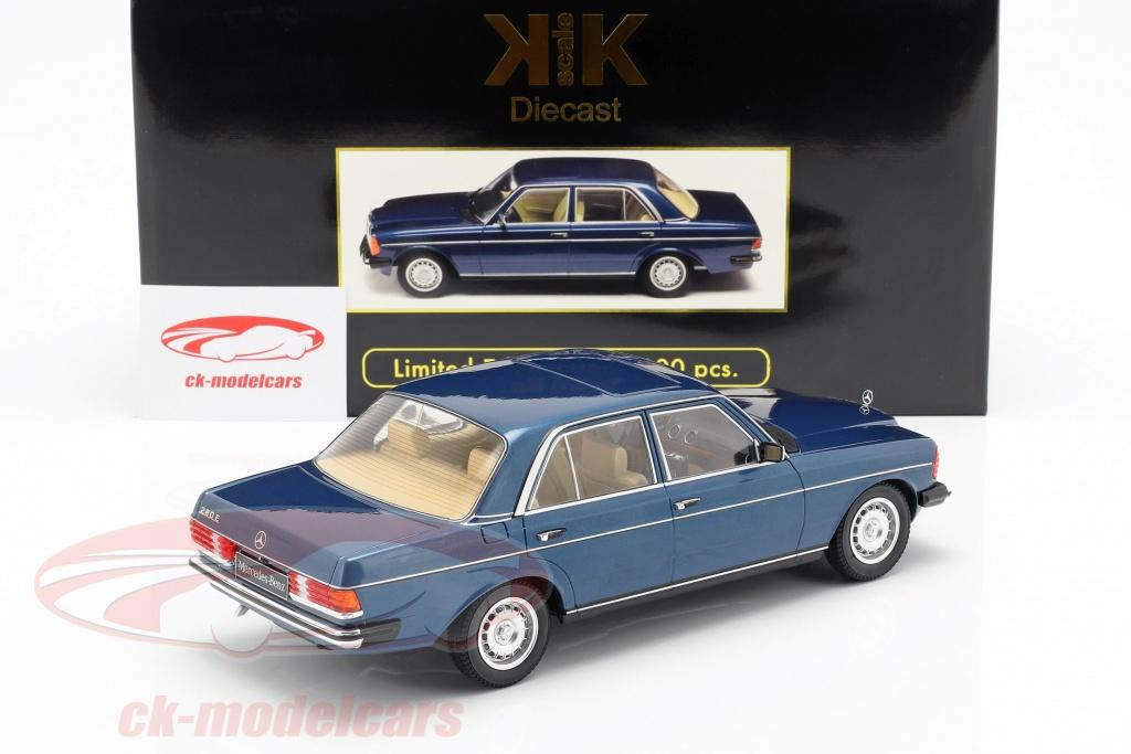 Kk Scale 1 18 Mercedes Benz 280e W123 Year 1977 Dark Blue Metallic Kkdc180352 Model Car Kkdc180352 9580015713559