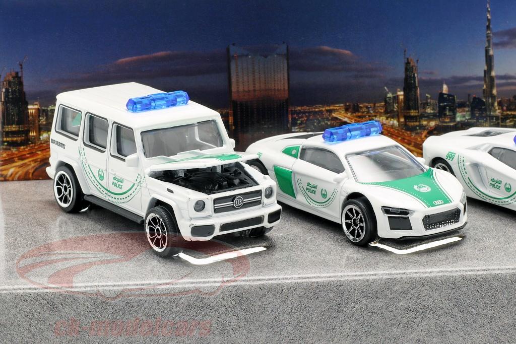 majorette-1-64-5-car-set-dubai-police-white-green-212053163047/
