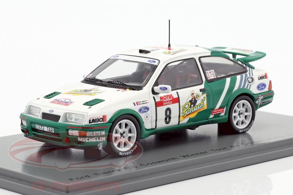 spark-1-43-ford-sierra-rs-cosworth-no8-winner-rallye-tour-de-corse-1988-s2626/
