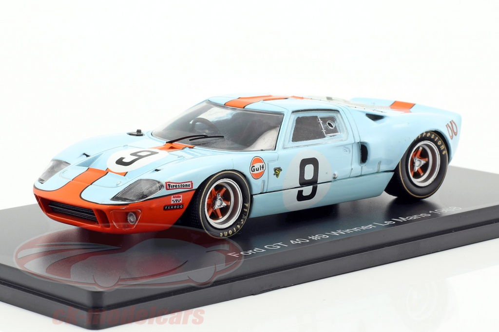 spark-1-43-ford-gt-40-gulf-no9-vinder-24h-lemans-1968-rodriguez-bianchi-ck58952/