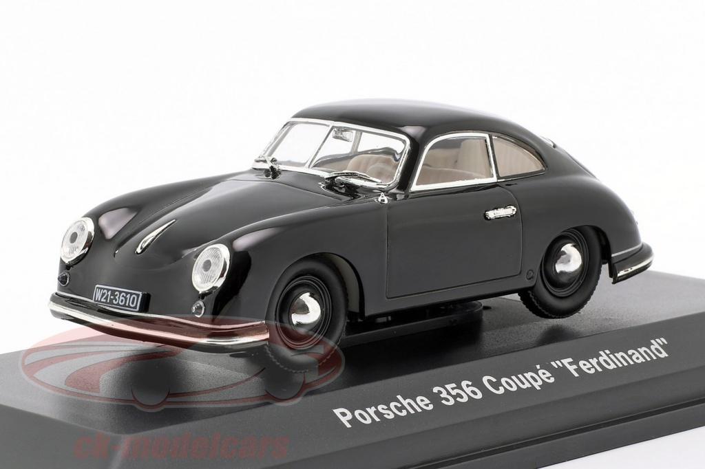 lucky-diecast-1-43-porsche-356-coupe-ferdinand-70-jahre-baujahr-1950-schwarz-wap02070y0j/