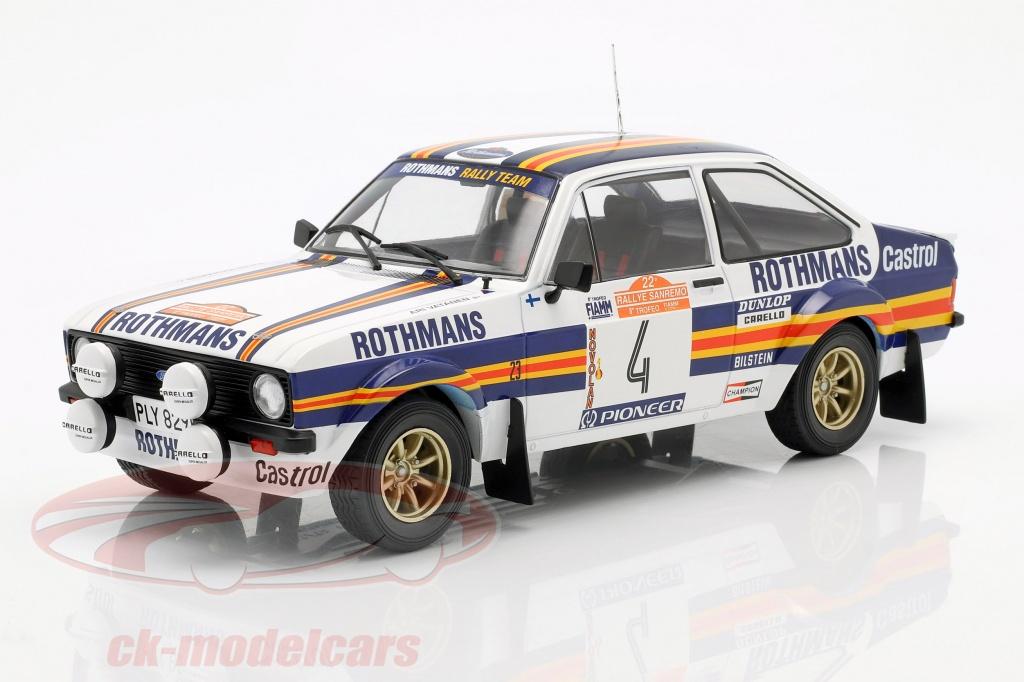 ixo-1-18-ford-escort-mk-ii-rs1800-no4-2nd-rallye-sanremo-1980-vatanen-richards-18rmc037a/