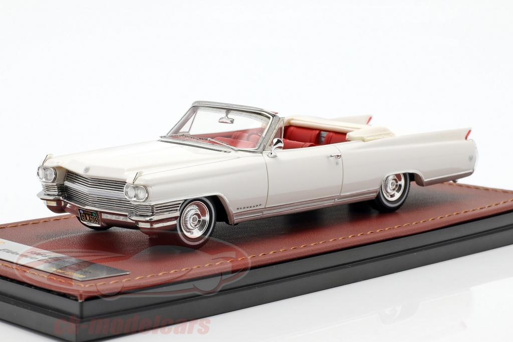 great-lighting-models-1-43-cadillac-eldorado-convertible-open-top-year-1964-aspen-white-glm124603/