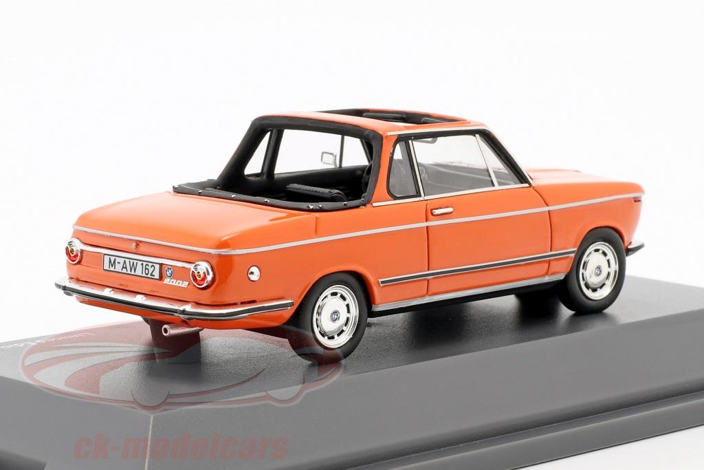 Schuco 1 43 Bmw 2002 Cabriolet Baur Orange 450908600 Model Car 450908600 4007864022847