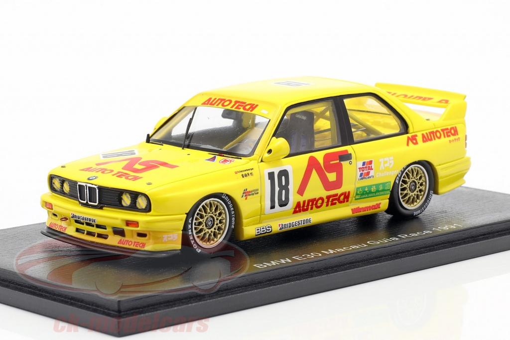 spark-1-43-bmw-m3-e30-no18-macau-guia-race-1991-roland-ratzenberger-sa188/