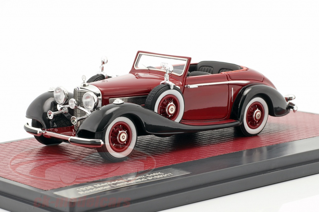 matrix-1-43-mercedes-benz-540k-roadster-lancefield-open-top-1938-rosso-mx51302-181/