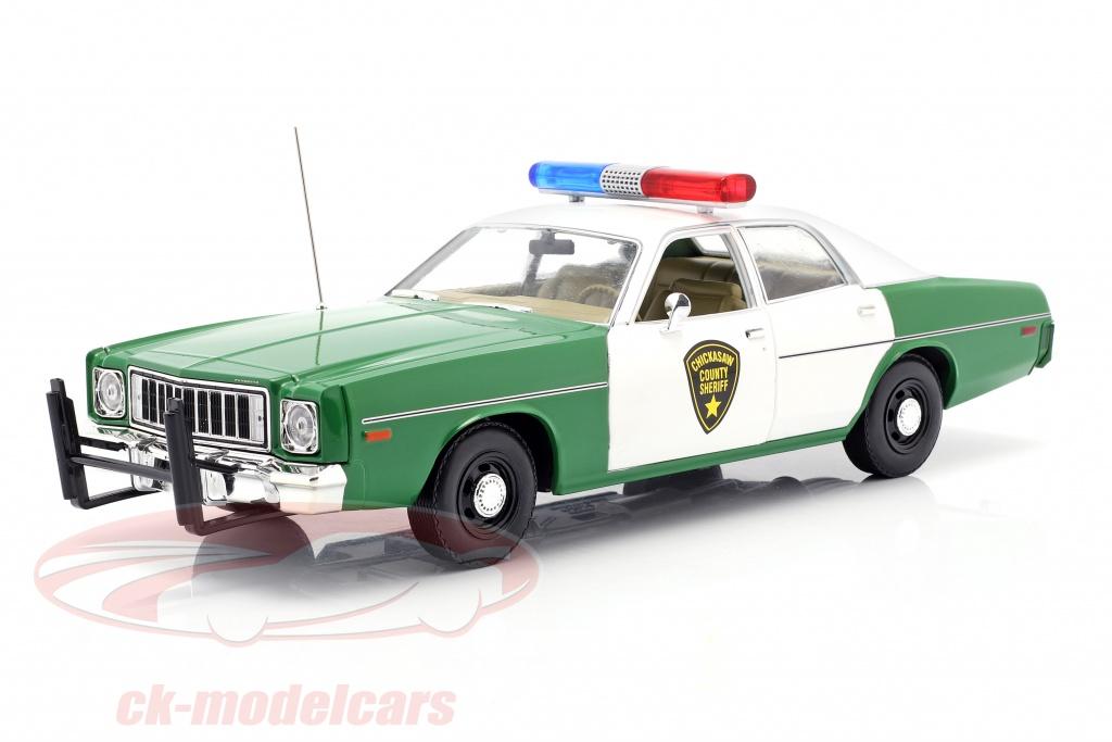 greenlight-1-18-plymouth-fury-chicksaw-county-sheriff-1975-verde-branco-19076/