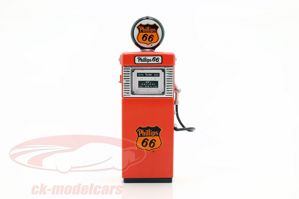 greenlight-1-18-wayne-505-phillips-66-pompa-di-benzina-1951-rosso-14070-a/