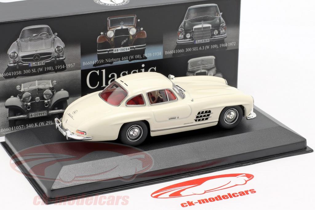 1954-1:43 WhiteBox Mercedes W 196 #149 silber