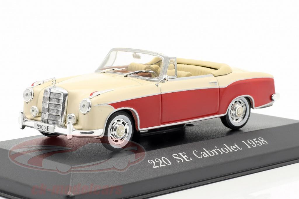 premium-collectibles-1-43-mercedes-benz-220-se-ponton-cabriolet-w128-year-1958-1960-red-beige-b66041068/