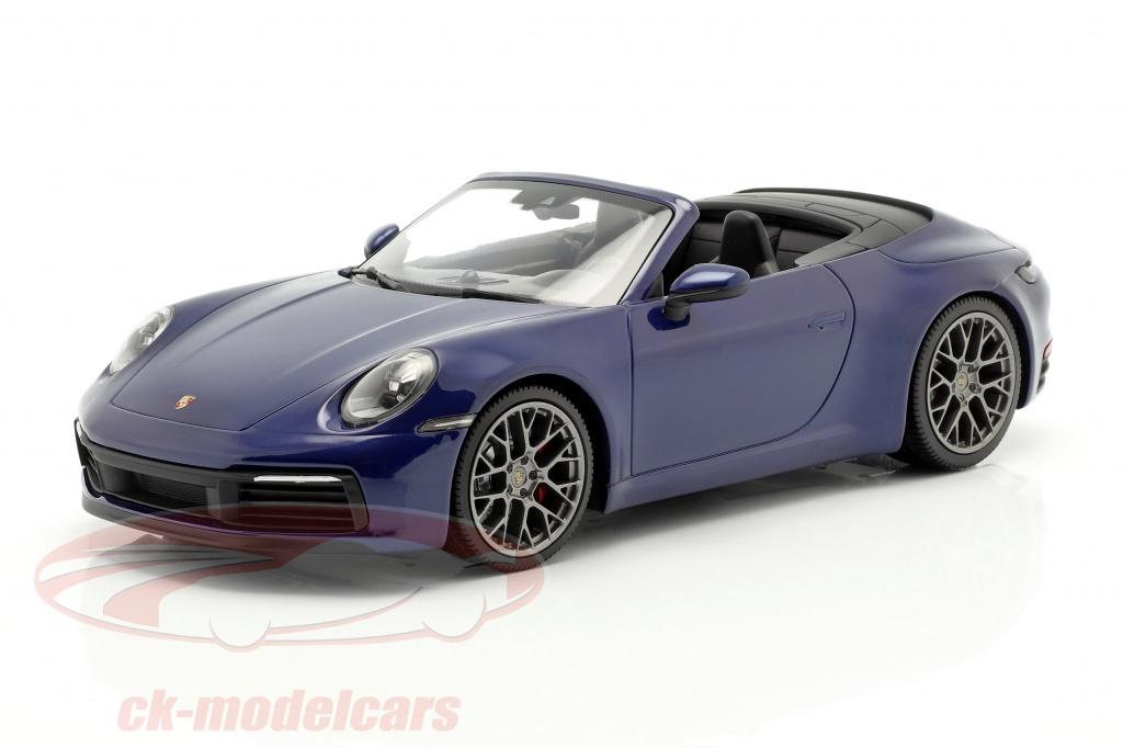 minichamps-1-18-porsche-911-992-carrera-4s-cabriole-2019-azul-metalico-155067332/