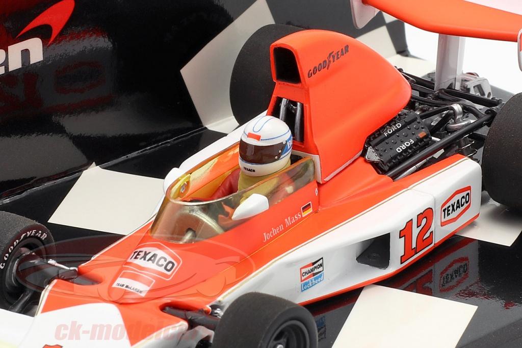 Jochen Mass Minichamps 1:43 McLaren Ford M23 SOUTH AFRICAN