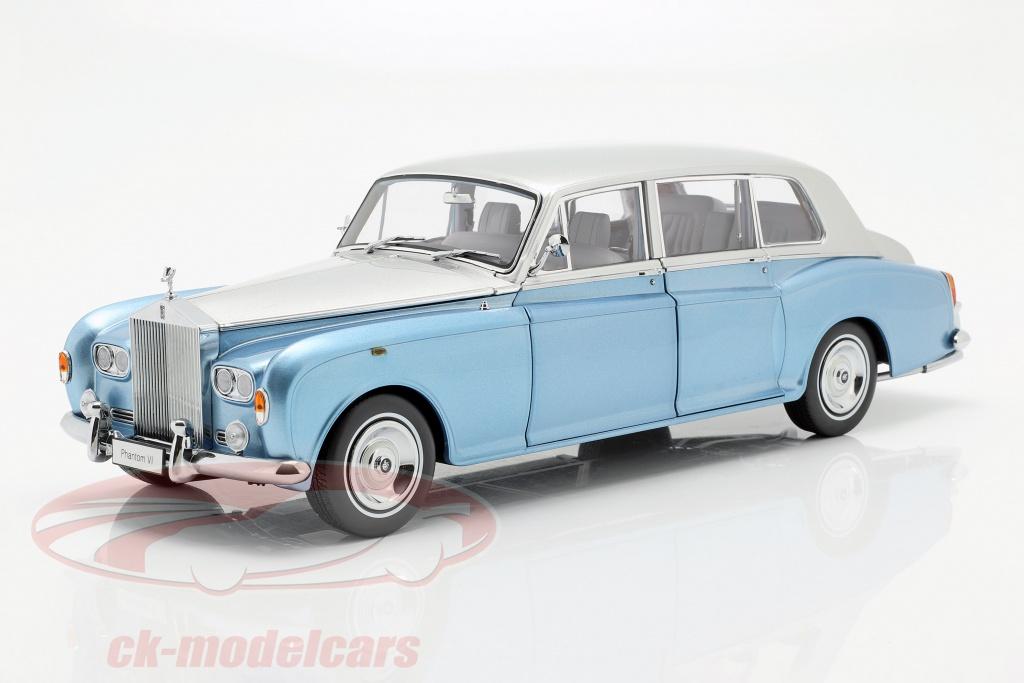 kyosho-1-18-rolls-royce-phantom-vi-light-blue-silver-08905lbs/