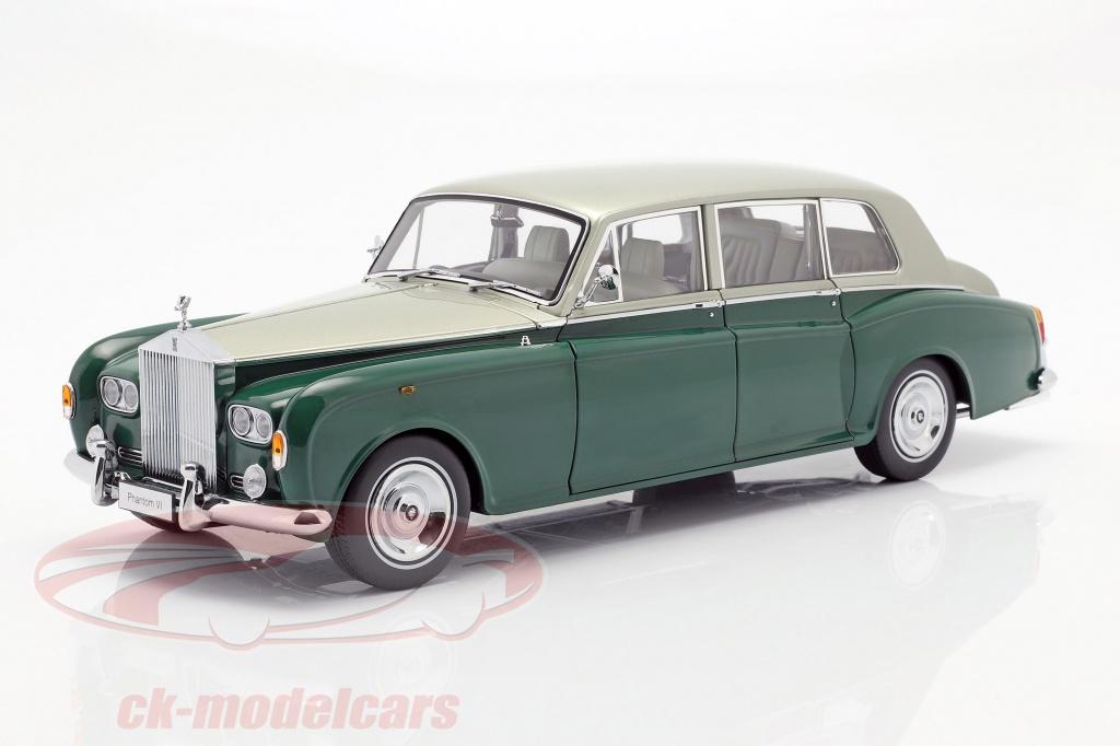 kyosho-1-18-rolls-royce-phantom-vi-verde-prata-08905grs/