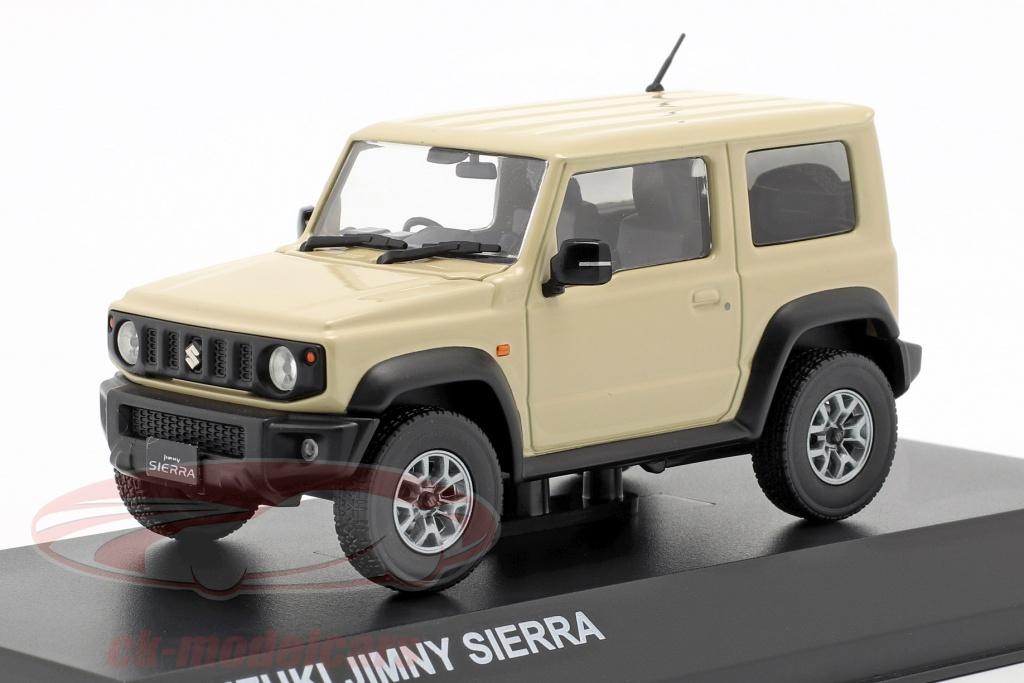 kyosho-1-43-suzuki-jimny-sierra-rhd-year-2018-chiffon-ivory-metallic-03678rhi/