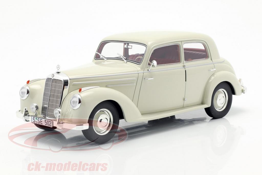 cult-scale-models-1-18-mercedes-benz-220-w187-berlina-anno-di-costruzione-1953-crema-bianco-cml050-2/