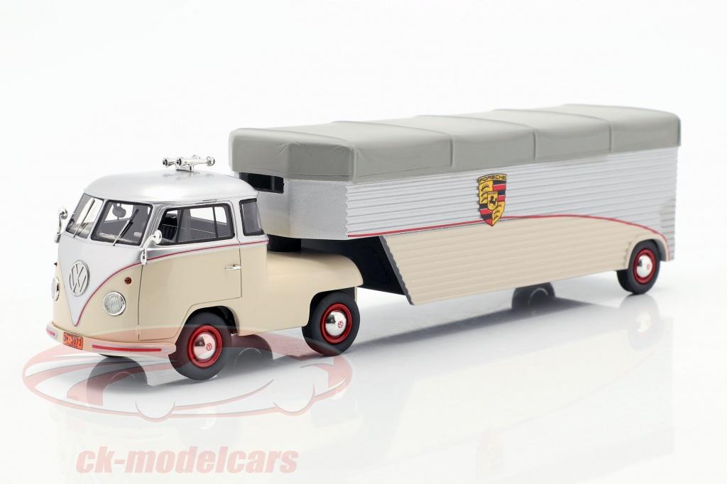 schuco-1-43-volkswagen-vw-t1-racing-transporter-porsche-beige-plata-gris-450909300/