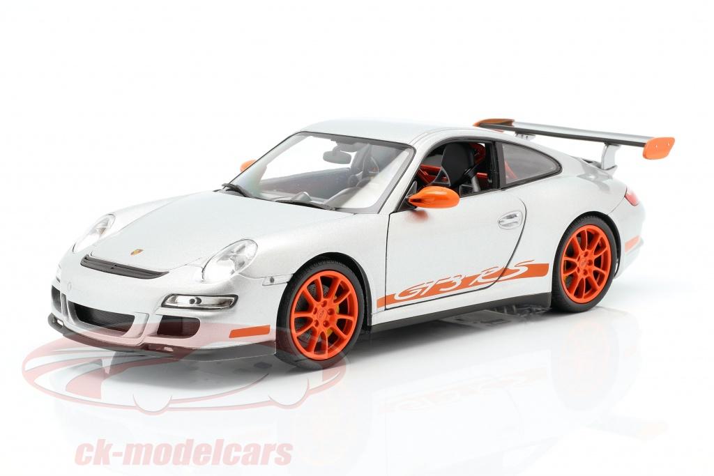 welly-1-18-porsche-911-997-gt3-rs-coupe-baujahr-2007-silbergrau-orange-18015/
