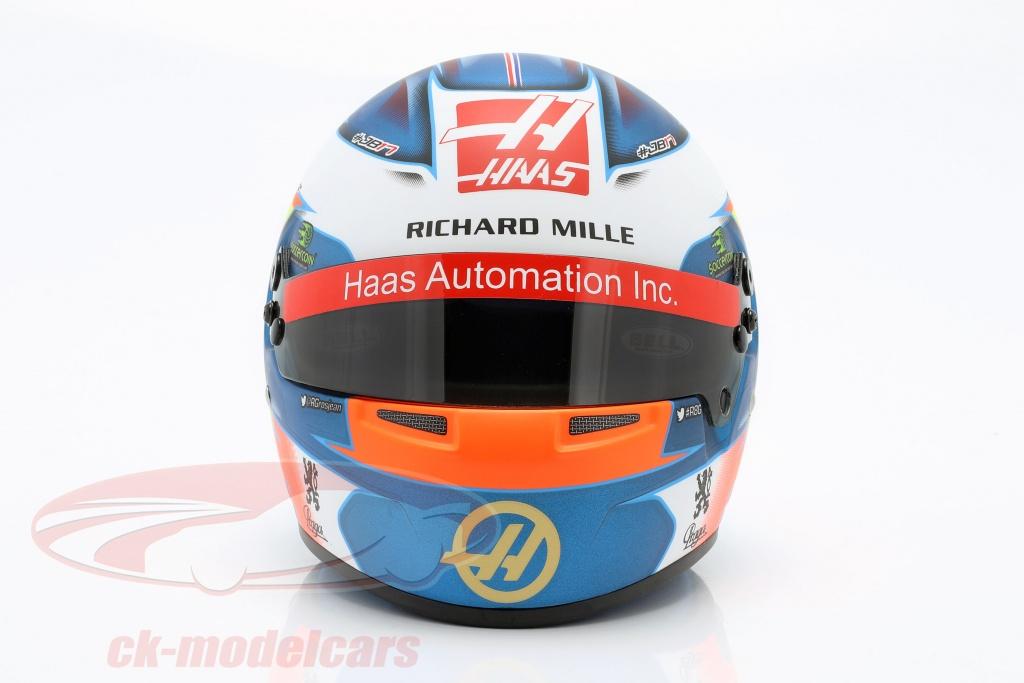 bell-1-2-romain-grosjean-haas-vf-19-no8-formula-1-2019-casco-4103531/
