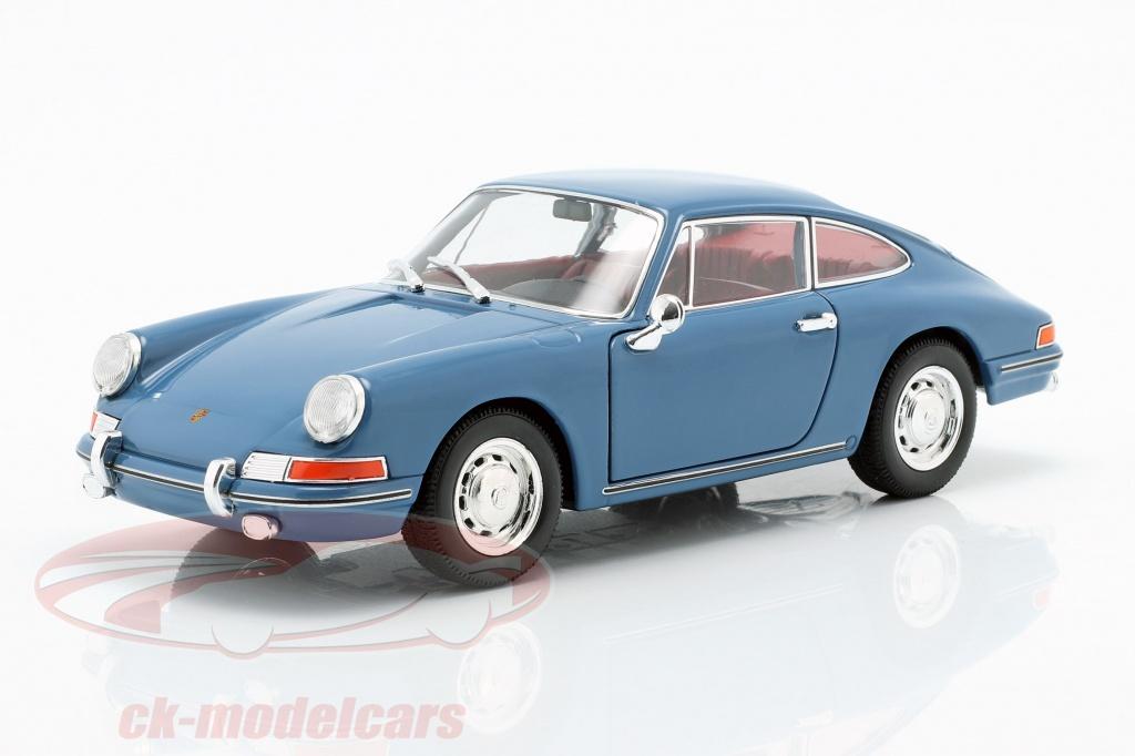 welly-1-24-porsche-911-annee-de-construction-1964-bleu-map02481319/