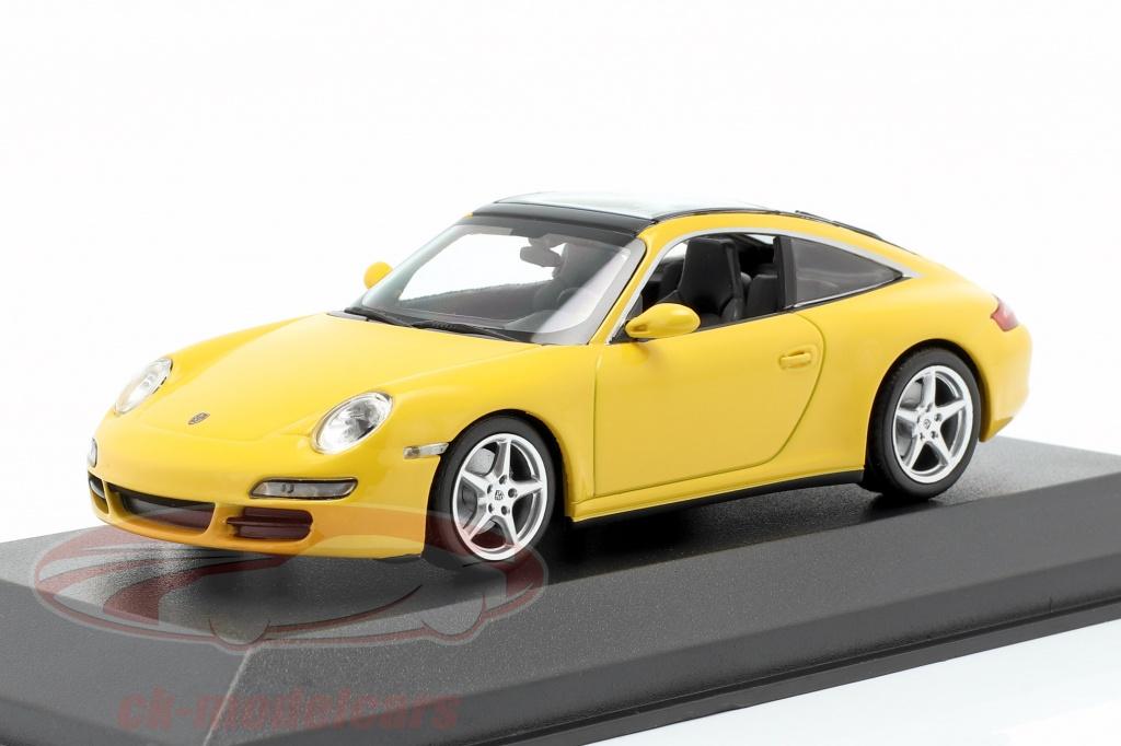 minichamps-1-43-porsche-911-997-targa-annee-de-construction-2006-jaune-940066161/