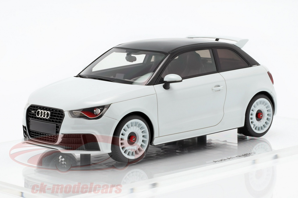 dna-collectibles-1-18-audi-a1-quattro-baujahr-2012-weiss-metallic-dna000045/