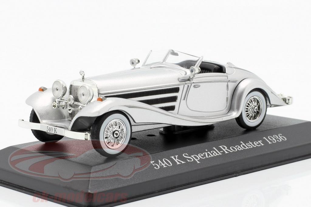 atlas-1-43-mercedes-benz-540k-spezial-roadster-w29-baujahr-1936-silber-7905005/
